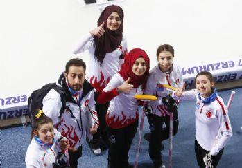 Türkiye üçüncü madalyasını curlingde kazandı