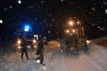 Kayak yapmaya giden 200 kişi dağda mahsur kaldı