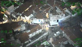 İstanbul'daki dev operasyon kamerada