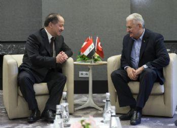 Yıldırım-Barzani görüşmesinde neler konuşuldu ?