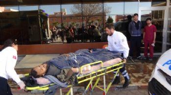 Çatışmalarda yaralanan 8 ÖSO askeri Kilis'e getirildi