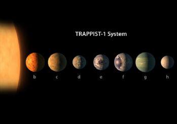 NASA açıkladı: 7 yeni gezegen keşfedildi, 3'ünde su olabilir