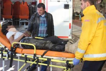 Suriye'de yaralanan 10 ÖSO askeri Kilis'e getirildi