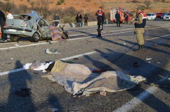 Katliam gibi kazada bir aile yok oldu: 4 ölü, 2 yaralı