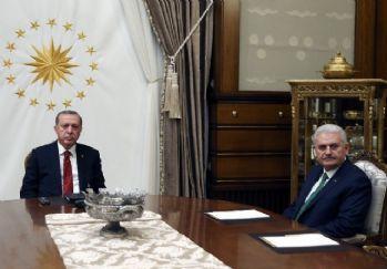 Başbakan Yıldırım Beştepe'de