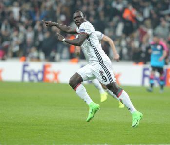 Aboubakar Avrupa'daki 4. golünü kaydetti
