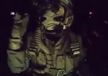 El Bab'da DEAŞ'ı bombalayan Türk pilotun Nusret taklidi!