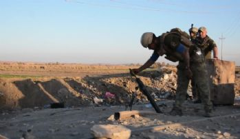 Musul'da 40 Irak askeri hayatını kaybetti