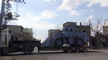 El Bab'a mayın temizleme aracı gönderildi