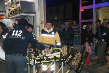 El Bab'da yaralanan 12 Suriyeli Kilis'e getirildi