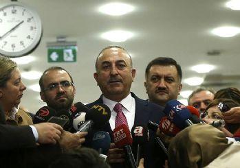 Dışişleri Bakanı Çavuşoğlu: YPG çekilmezse vuracağız!