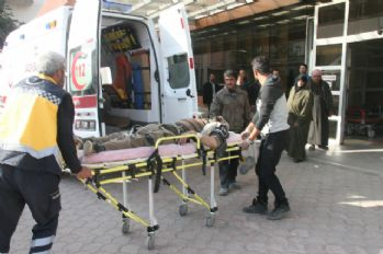 El Bab'da yaralanan 5 kişi Kilis'e getirildi