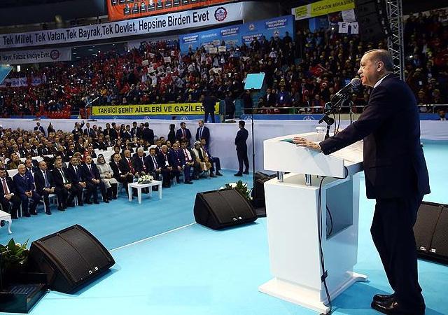 Cumhurbaşkanı Erdoğan: Delikanlı ol ciğerimi ye!