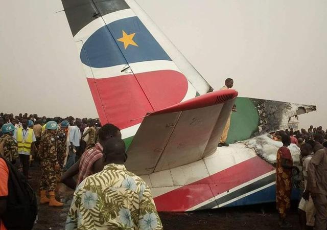 Güney Sudan'da uçak kazası: 'En az 44 kişi öldü' iddiası