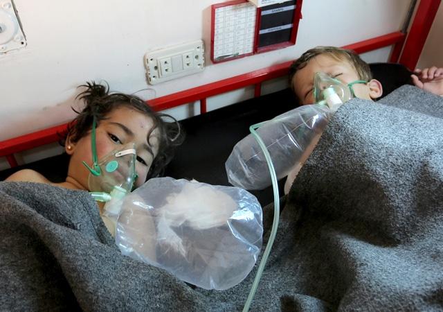 Esad İdlib'de kimyasal katliam yaptı