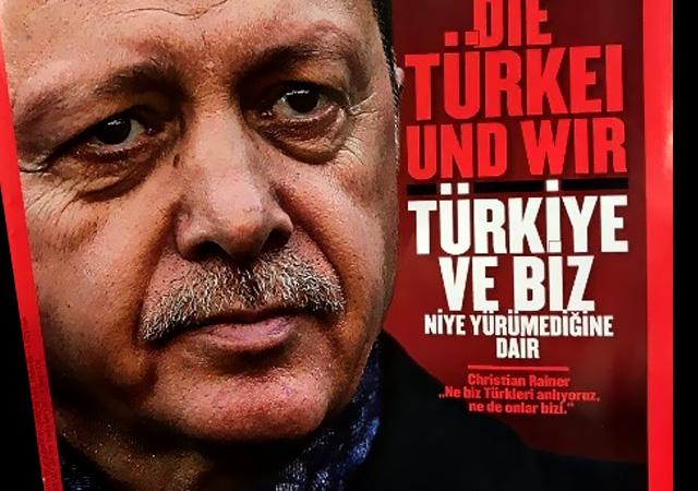 Avusturya dergisinden Erdoğan manşeti!