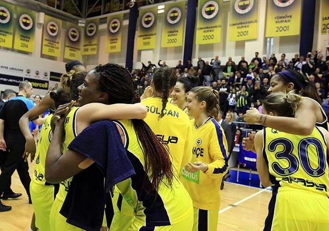 Fenerbahçe Kadın Basketbol Takımı FIBA Avrupa Ligi'nde finale yükseldi