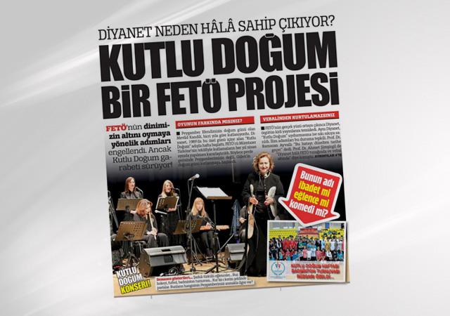 Kutlu Doğum FETÖ projesi! Meğer Gülen'in doğum günü...