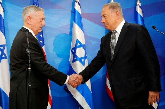 ABD Savunma Bakanı Mattis İsrail'de