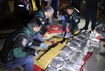 İran'dan gelen tırda 9 milyon TL'lik uyuşturucu ele geçirildi