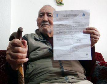 İstanbul'un yolunu bilmeyen adama İSKİ'den su faturası