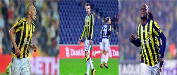 Fenerbahçe'de forvetler sustu