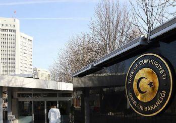 Alman maslahatgüzarı Dışişleri Bakanlığı'na çağrıldı