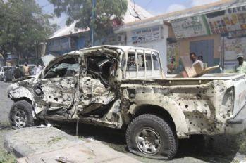 Mogadişu'da bombalı saldırı: 5 ölü