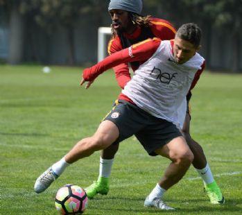 Galatasaray'da Adanaspor maçı hazırlıkları sürüyor