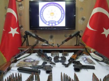 Mardin'de silah kaçakçılarına darbe