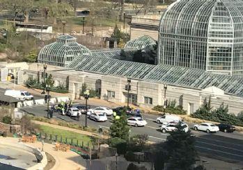 Washington'daki kongre binasına ateş açıldı