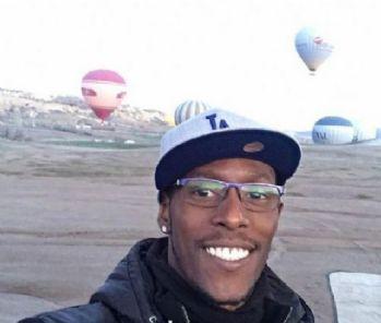 Palacios'un balon düşmeden önceki paylaşımı