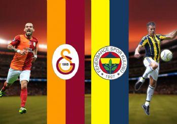 Fenerbahçe-Galatasaray derbisi muhtemel 11'leri