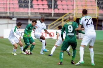 Bursaspor'a son 3 maçta 12 gol attı