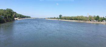 Meriç Nehri'nin debisi arttı