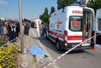 Tankerle motosiklet çarpıştı: 1 ölü