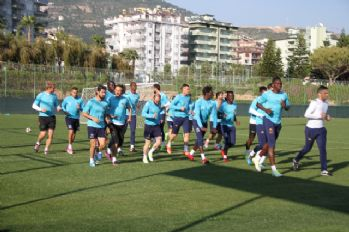 Aytemiz Alanyaspor'da Kayserispor maçı hazırlıkları başladı