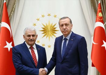 Cumhurbaşkanı Erdoğan, Başbakan Yıldırım'ı kabul etti