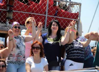 Türkiye'nin kadın muhtarları Bodrum'da doyasıya eğlendi