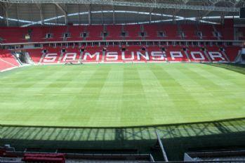Samsunspor Stadı 15 gün sonra hazır