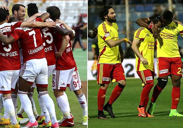 Yeni Malatyaspor ve Sivasspor, Süper Lig'e çıktı!