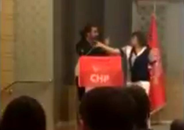 Kılıçdaroğlu'nu FETÖ'den eleştirdi kürsüden atıldı