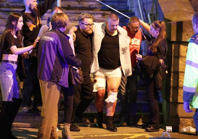 Manchester Arena'da patlama sonrası ilk görüntüler