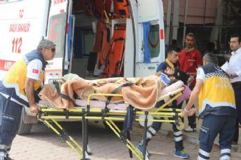 Suriye'deki çatışmalarda yaralanan 5 kişi Kilis'e getirildi