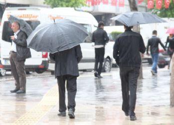 Meteorolojiden yağış, rüzgar ve fırtına uyarısı
