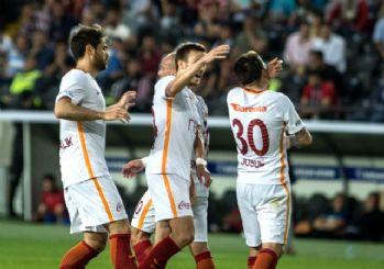 Galatasaray, Gaziantep deplasmanında kazandı! 2-1