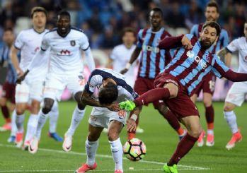Trabzonspor'dan Başakşehir'e çelme! 0-0