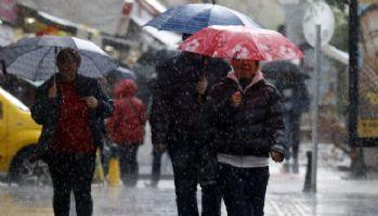 Çok kuvvetli yağmur geliyor! Meteoroloji saat verdi