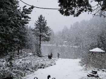 Gümüşhane'de kar sürprizi