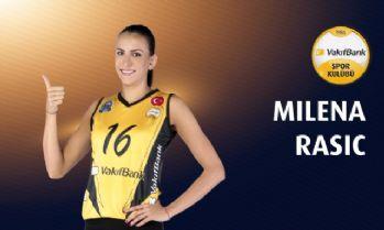 VakıfBank Milena Rasic'le sözleşme uzattı